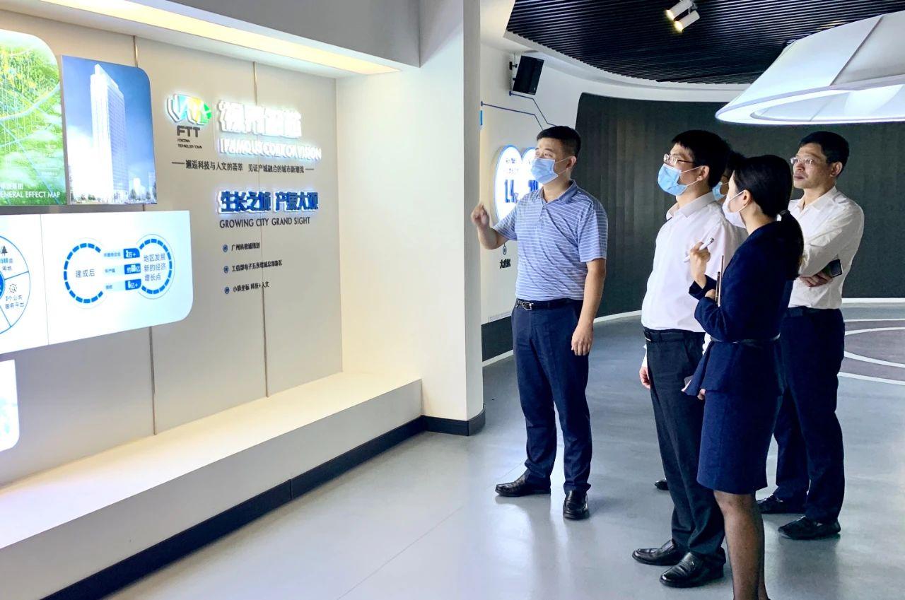 郴州市委常委、副市长梁成谷考察龙门娱乐平台登录重点产业项目